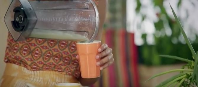 Suco de mangaba