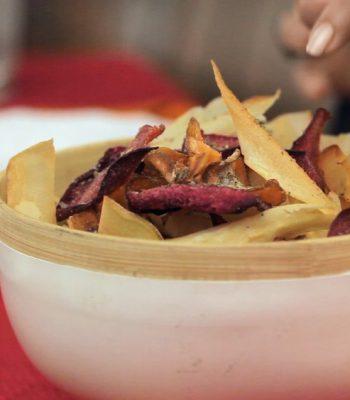 Chips de raízes