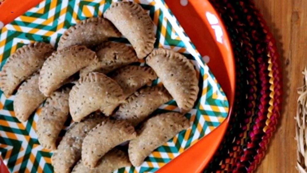 Pastel de Forno Integral com recheio de Palmito e Azeitona