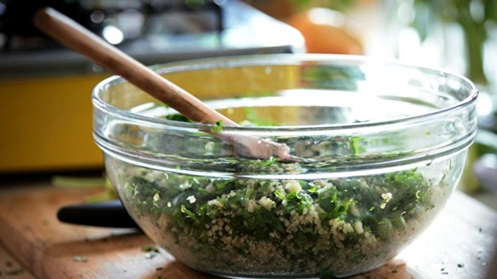 Salada de Quinoa com Ervilha