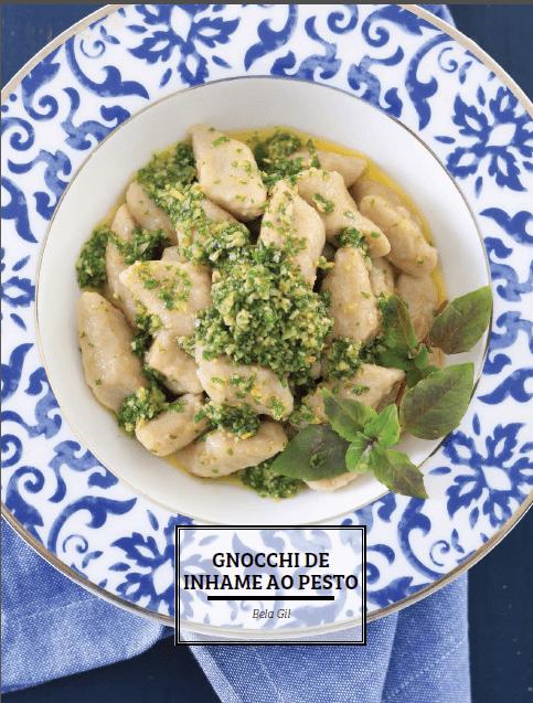 Gnocchi de Inhame ao Pesto – Revista Gastronomia Angeloni