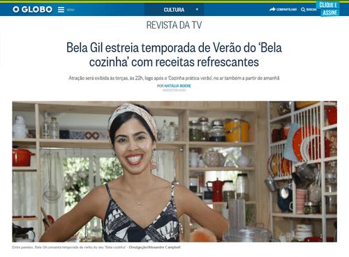 Bela Gil: Estreia temporada de verão do 'Bela cozinha' com receitas refrescantes