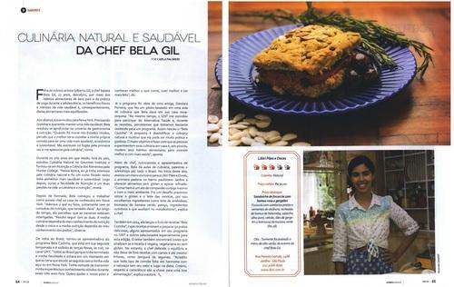 Culinária natural e saudável da Chef Bela Gil